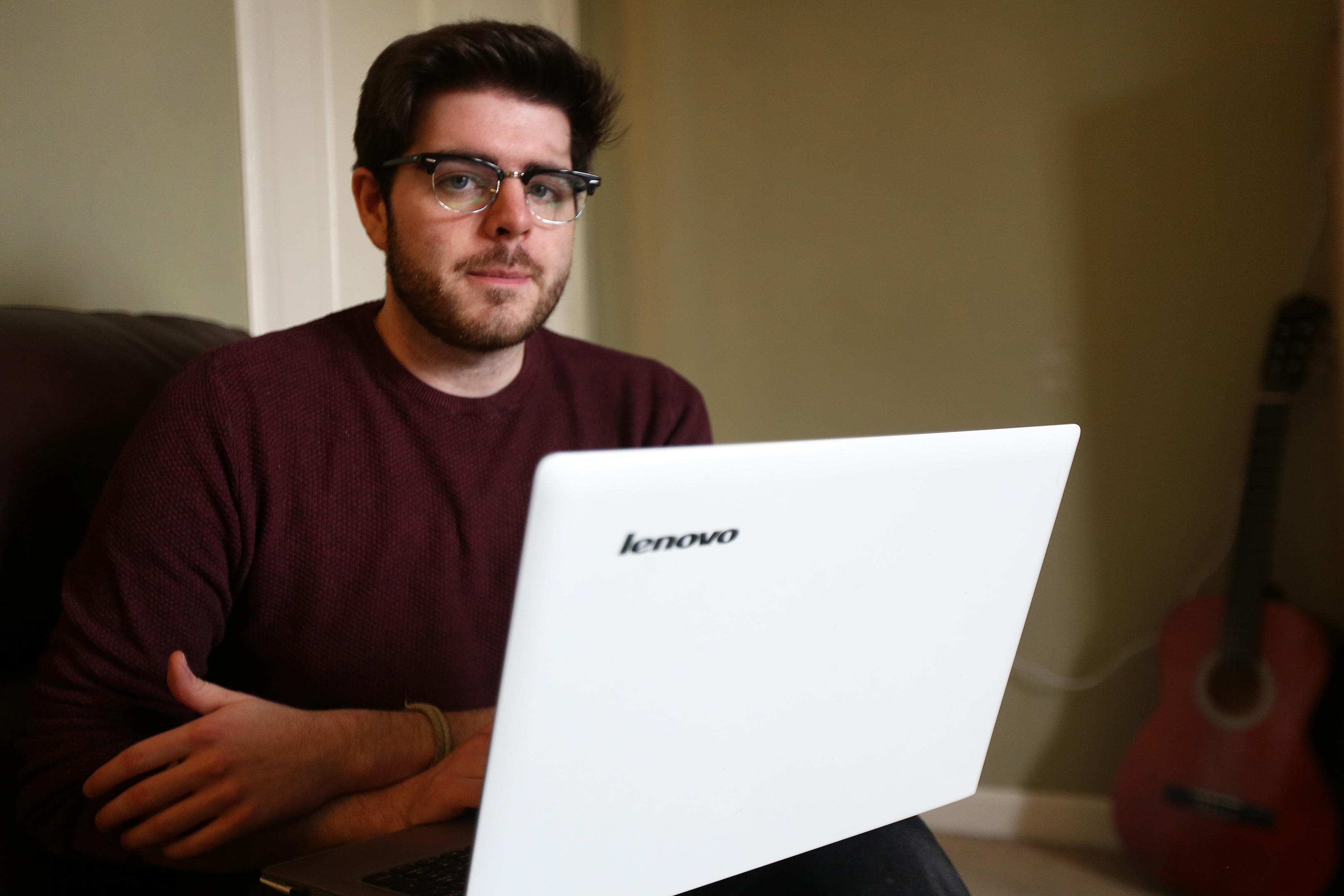 Sean Smith made an online appeal for help finding work after struggling to find an employer who knows abut ASDs