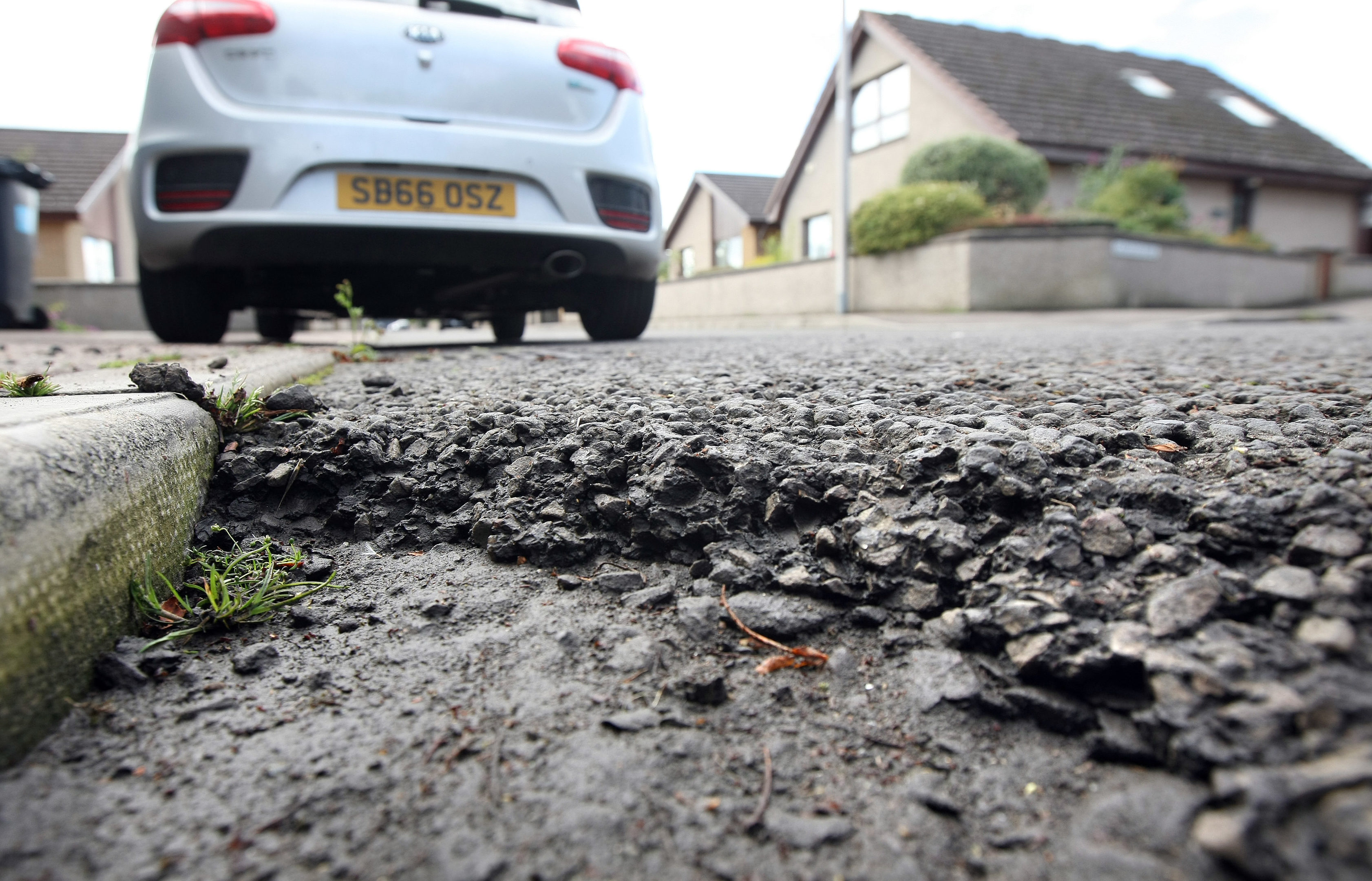 Fife's potholes are getting worse
