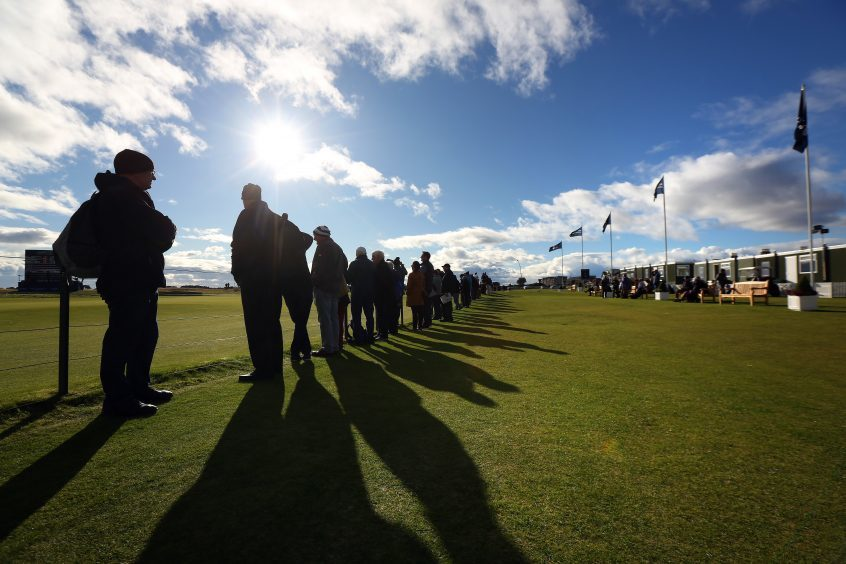 The Dunhill Links Championship Carnoustie.
