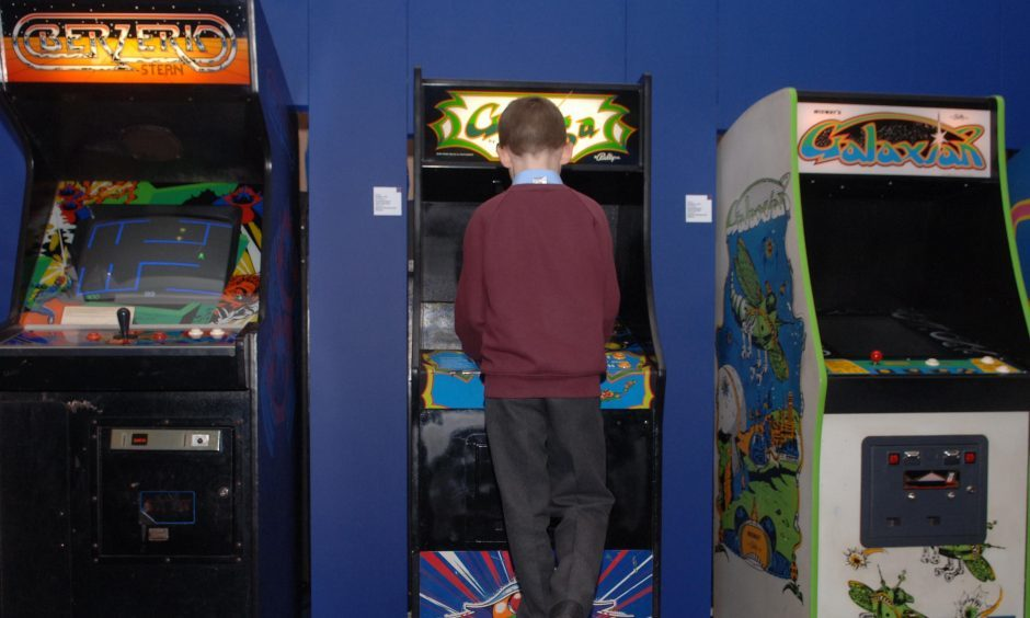New video games were a source of excitement.