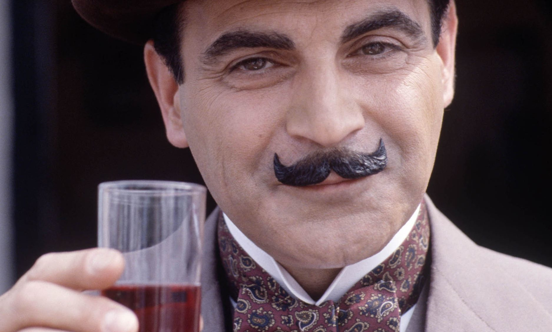 Poirot knew how to travel in style.