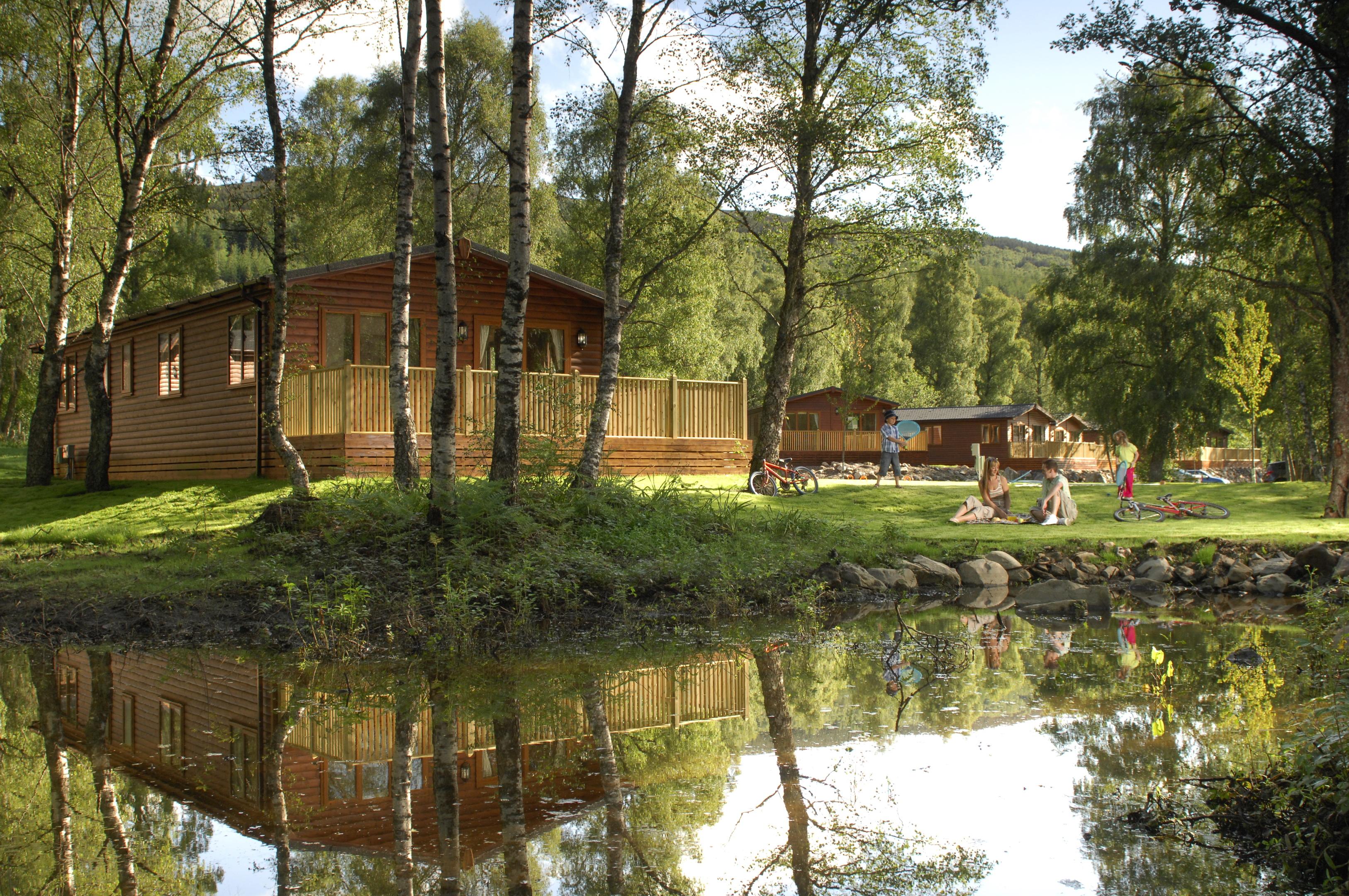 Parkdean's Tummel Valley Holiday Park.