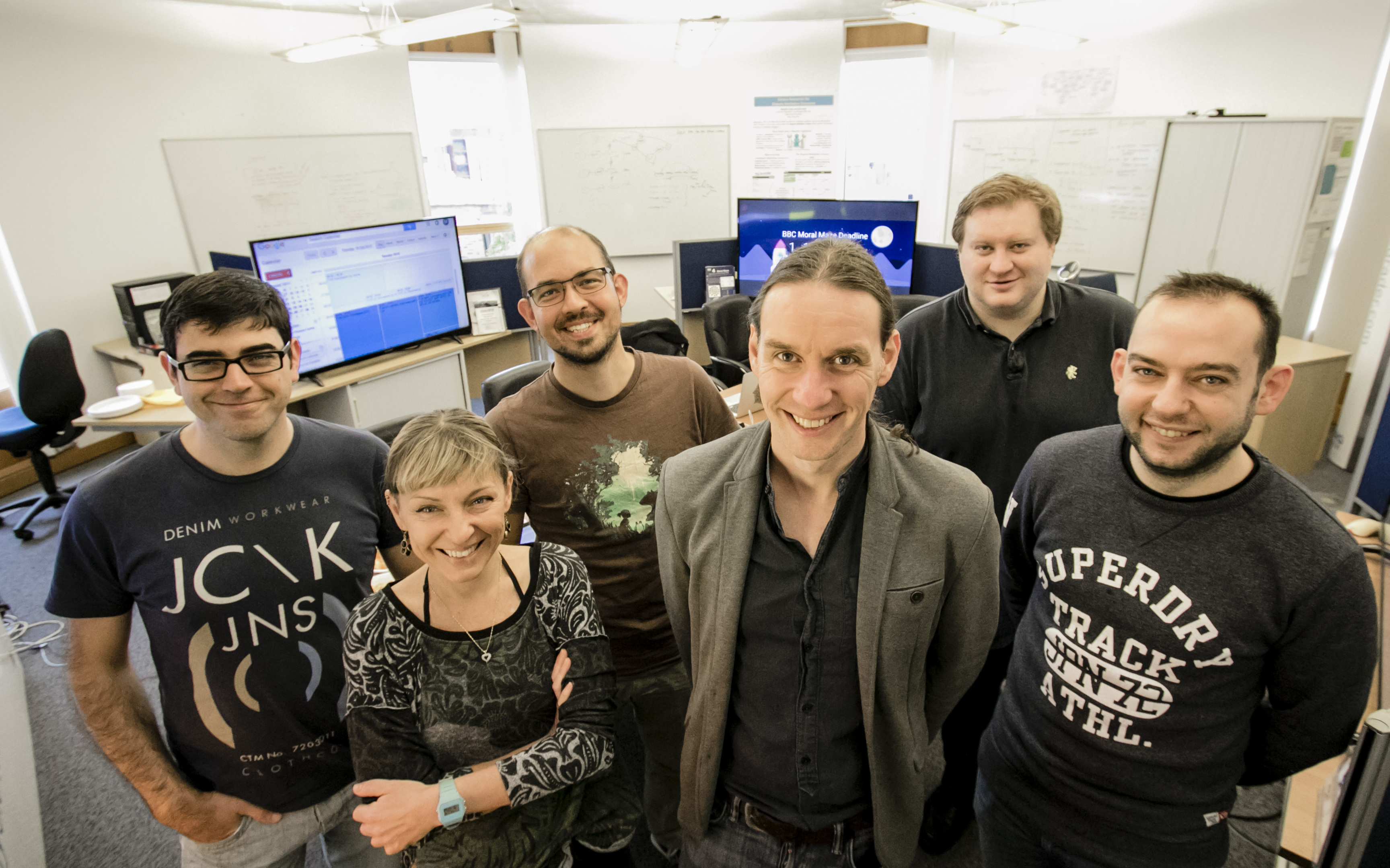 Professor Chris Reed and his team.