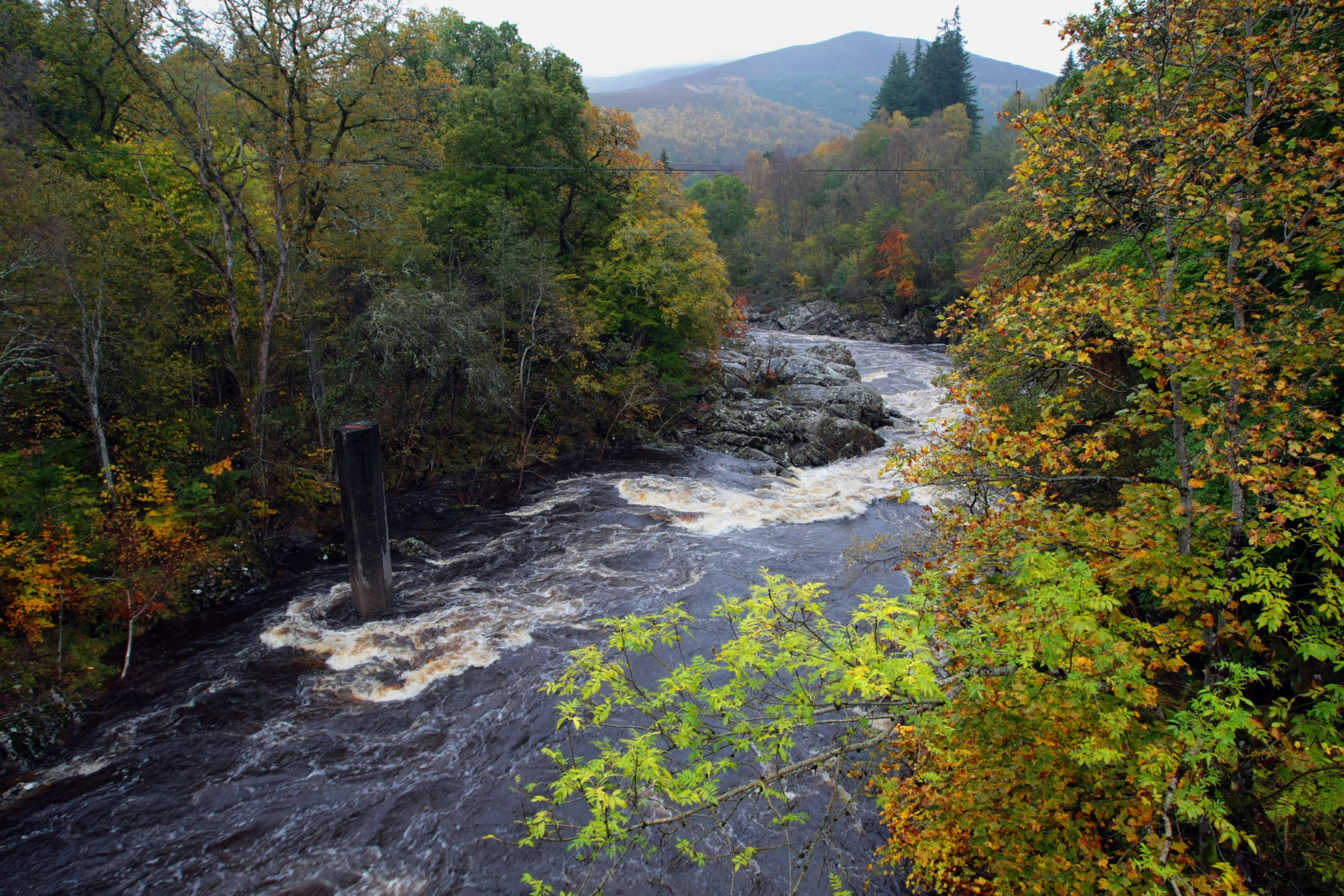 The River Garry near Killiecrankie.