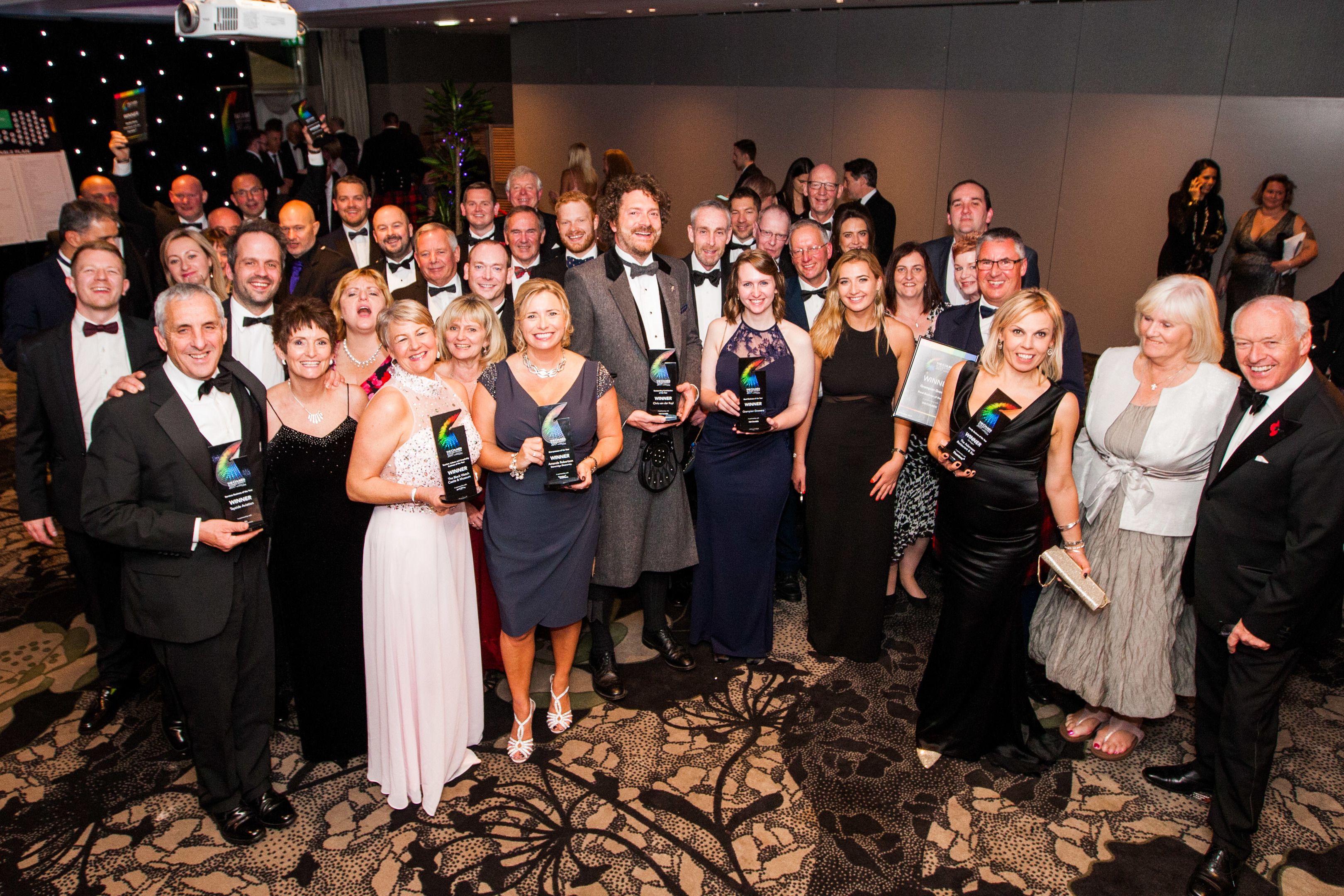 Some of the main winners at the 2017 Courier Business Awards.
