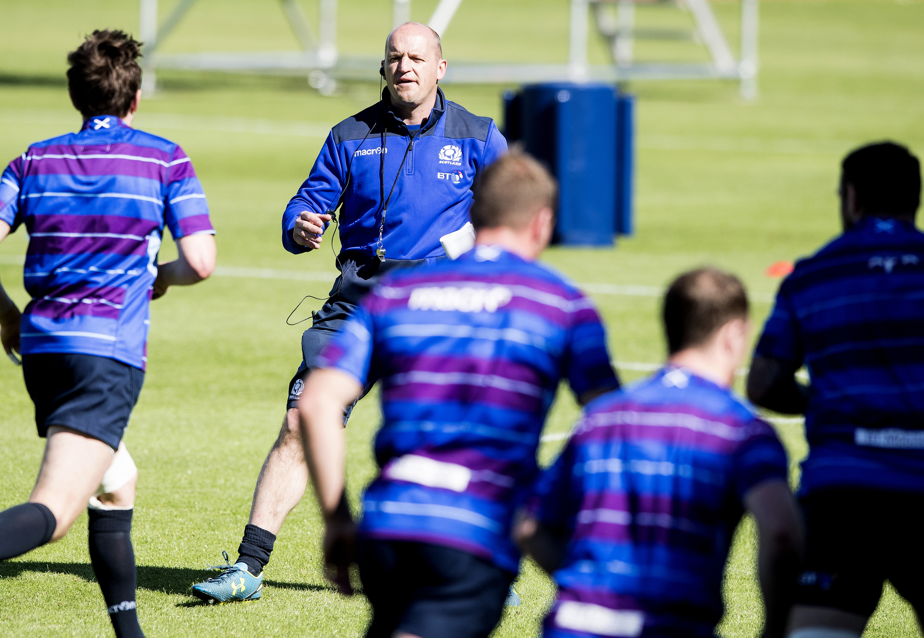 Scotland head coach Gregor Townsend has his first home fixtures in charge next month.