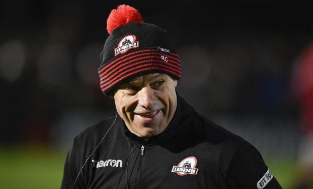 Edinburgh head coach Richard Cockerill.
