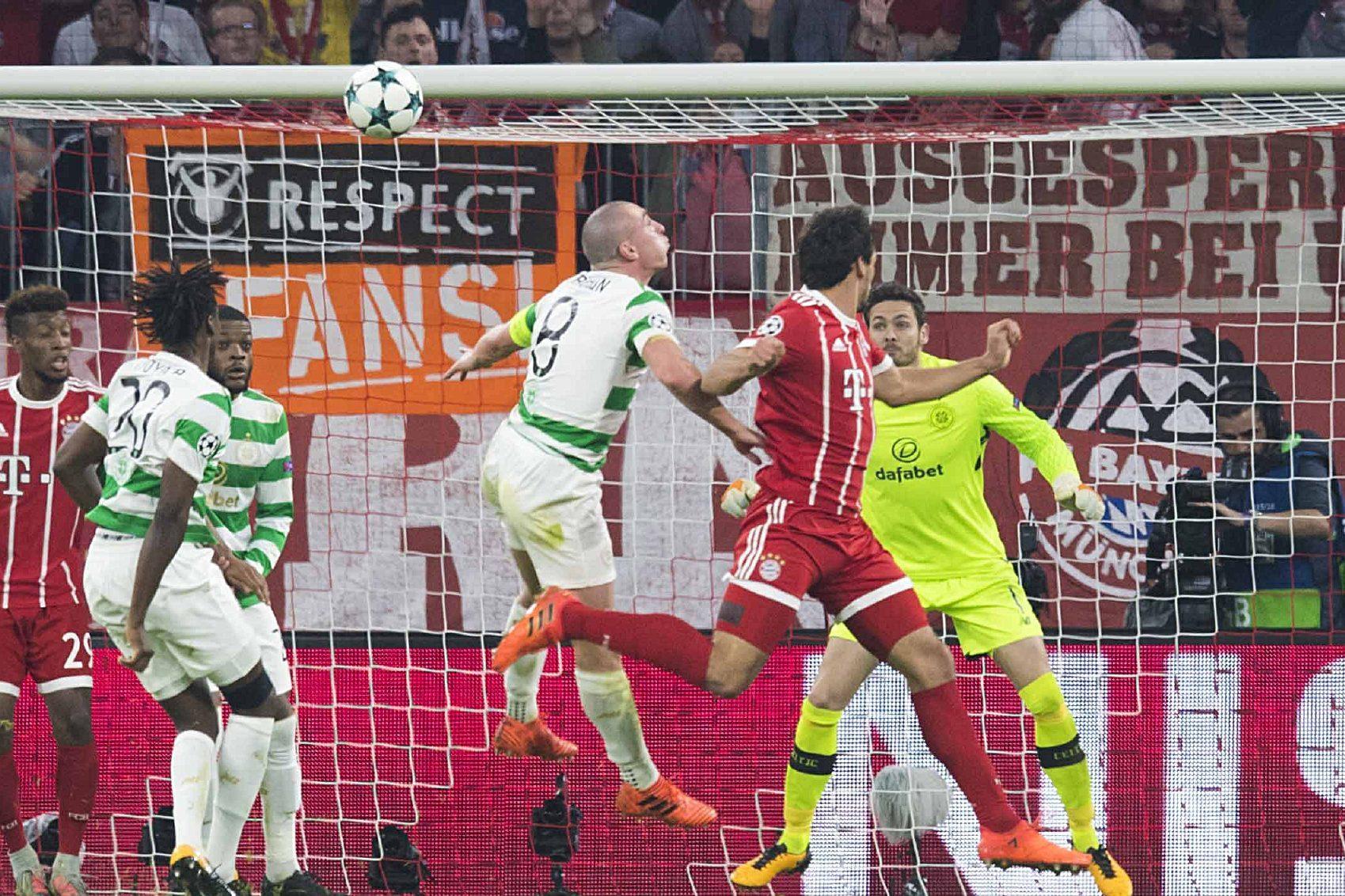 Mats Hummels makes it 3-0 to Bayern.