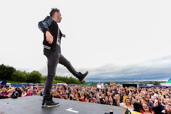 Boyband A1 teased the crowd with some 90s classics at the last PKD Festival in July.