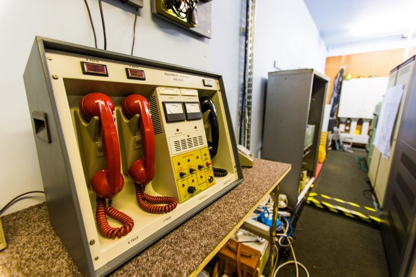 Nuclear 4 minute warning telephones, these are original
