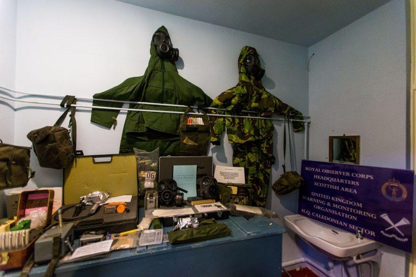 Decontamination room