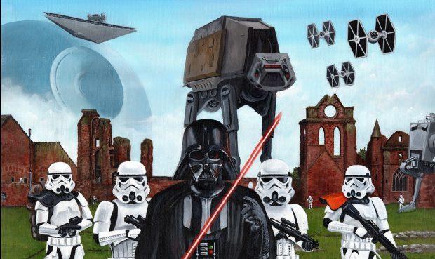 Star Wars at Arbroath Abbey.