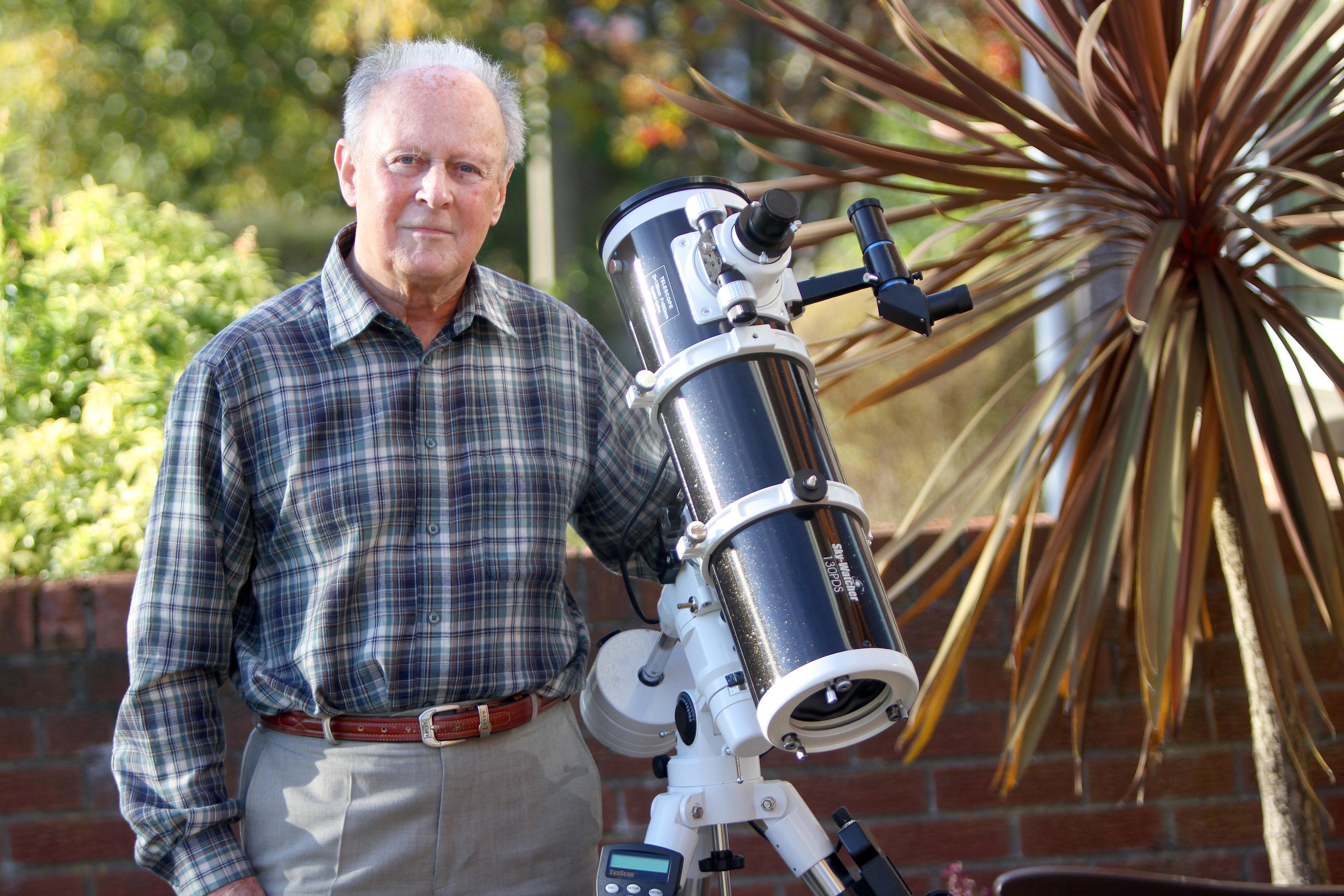 Dundee astronomer Ken Kennedy.