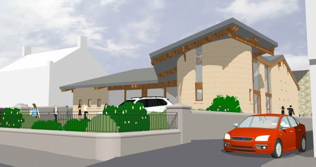 Plans for the new church building have been rejected