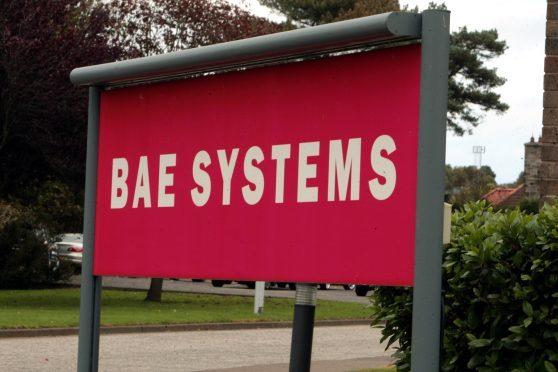 BAE's Hillend plant