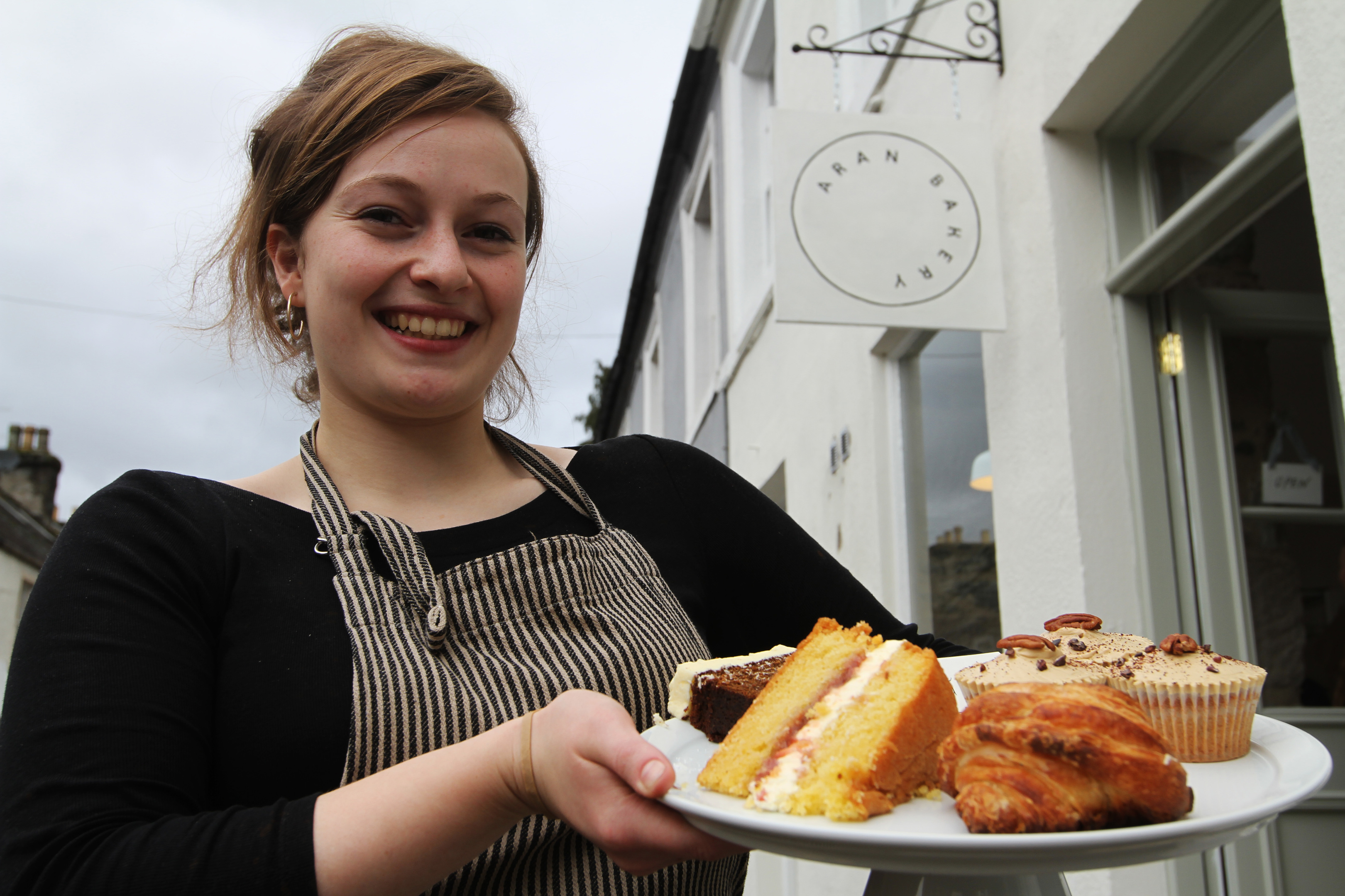 Flora Shedden has opened her long-anticipated bakery in Dunkeld.