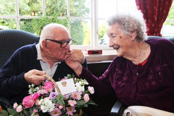 Jean and Donald Scott celebrated their 76th Wedding Anniversary.