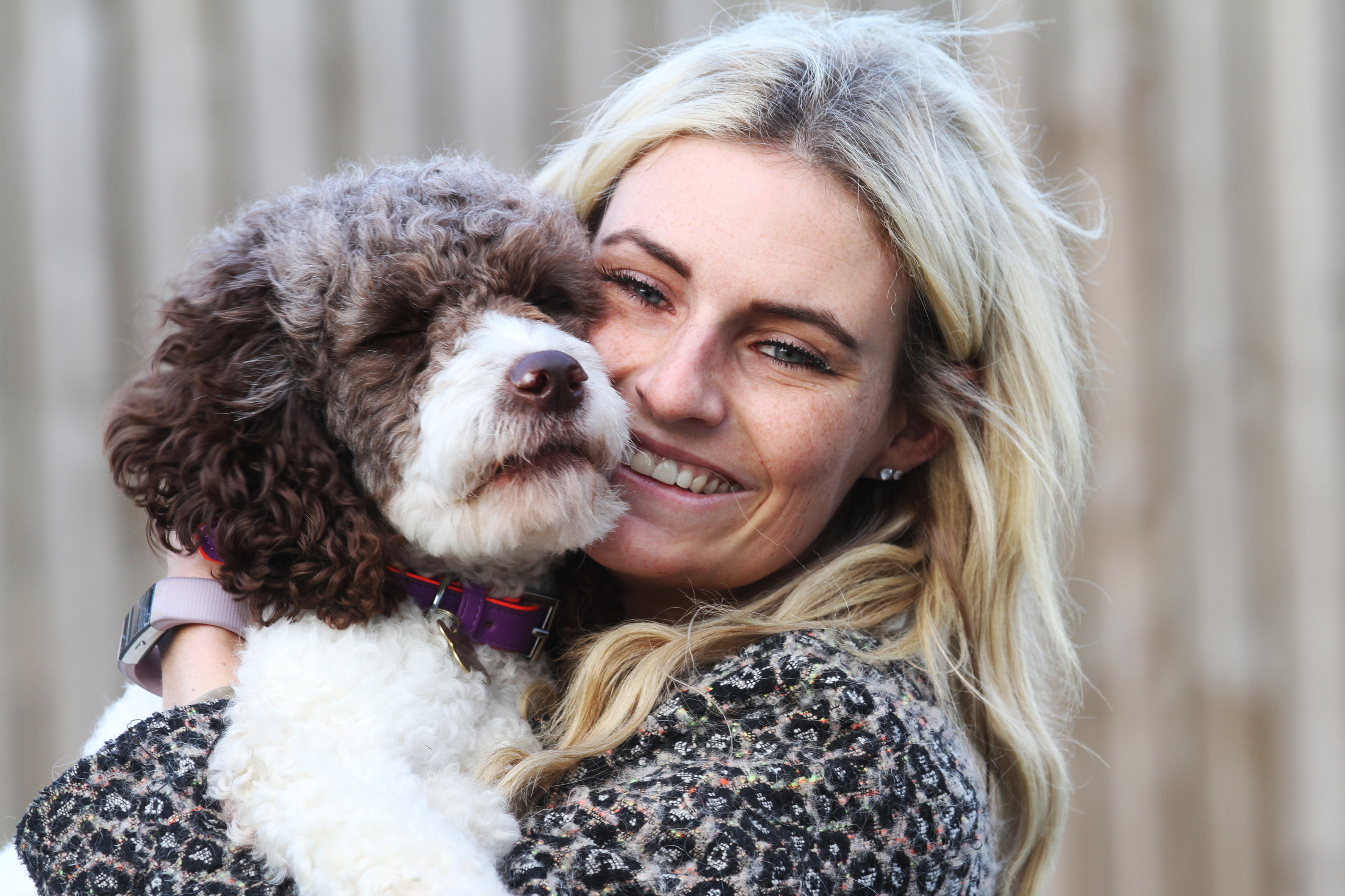 Rachael Nixon was happily reunited with Ester on Tuesday.