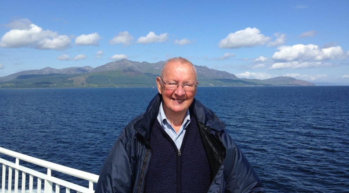 Former lord provost Mervyn Rolfe.