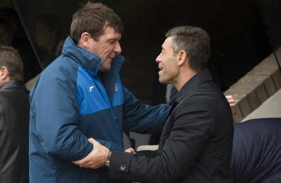 Tommy Wright will be happy to shake Pedro Caixinha by the hand again.