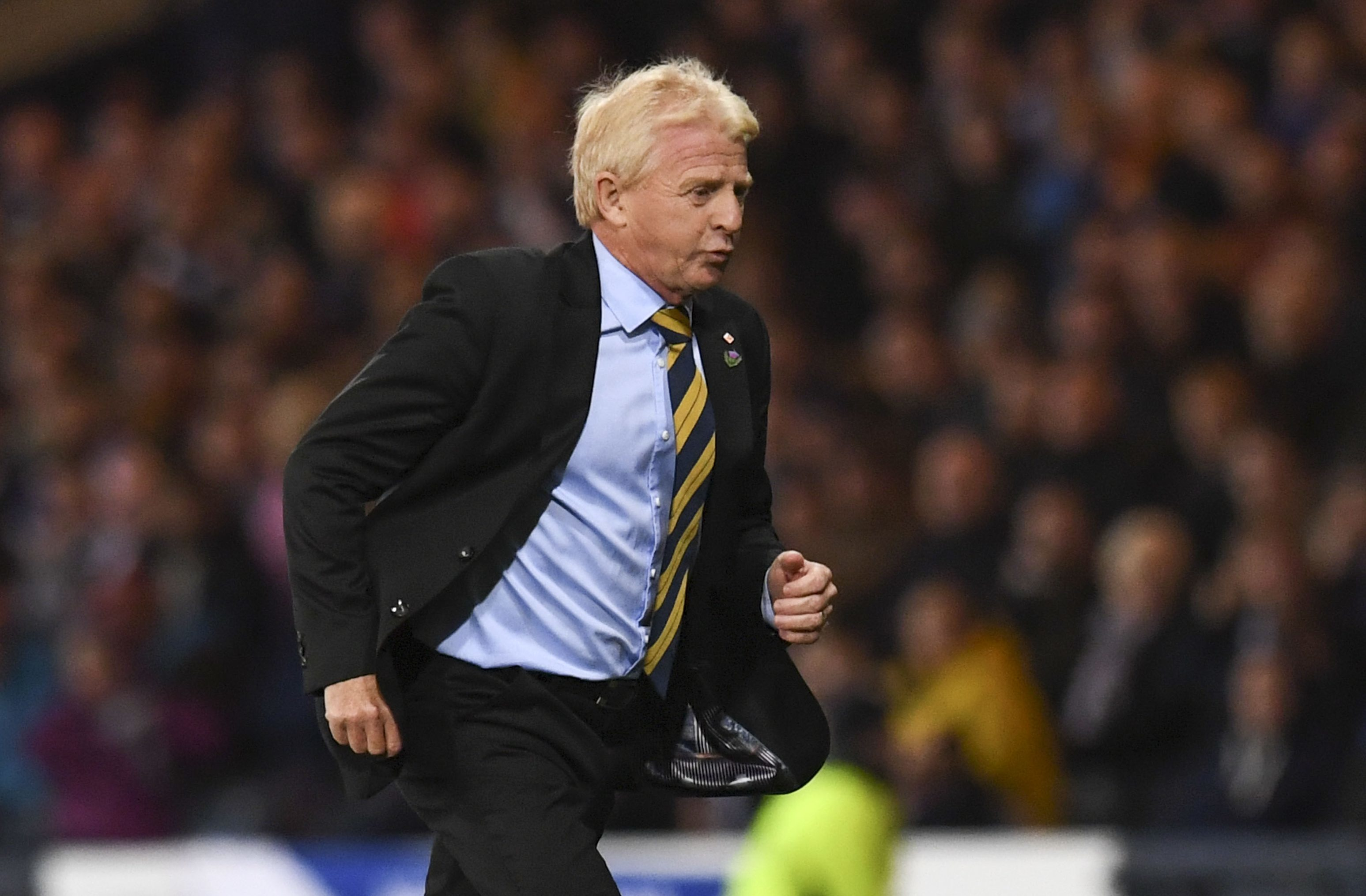 Gordon Strachan's race as Scotland manager could be run.