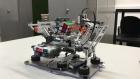 This Abertay University Lego robot can solve a Rubik's Cube.