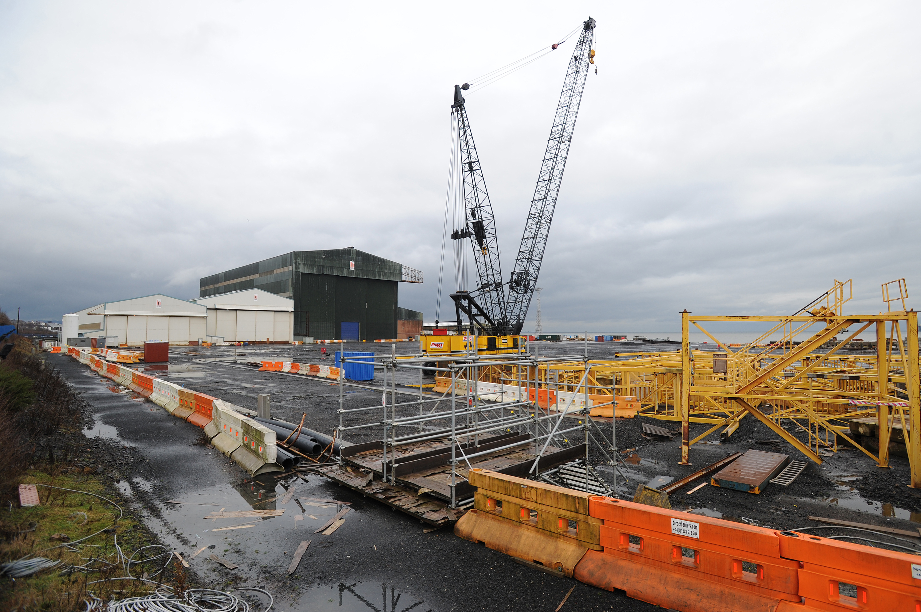 The BiFab yard at Methil.