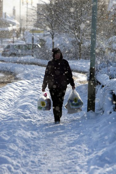 Winter in Perth 2010.