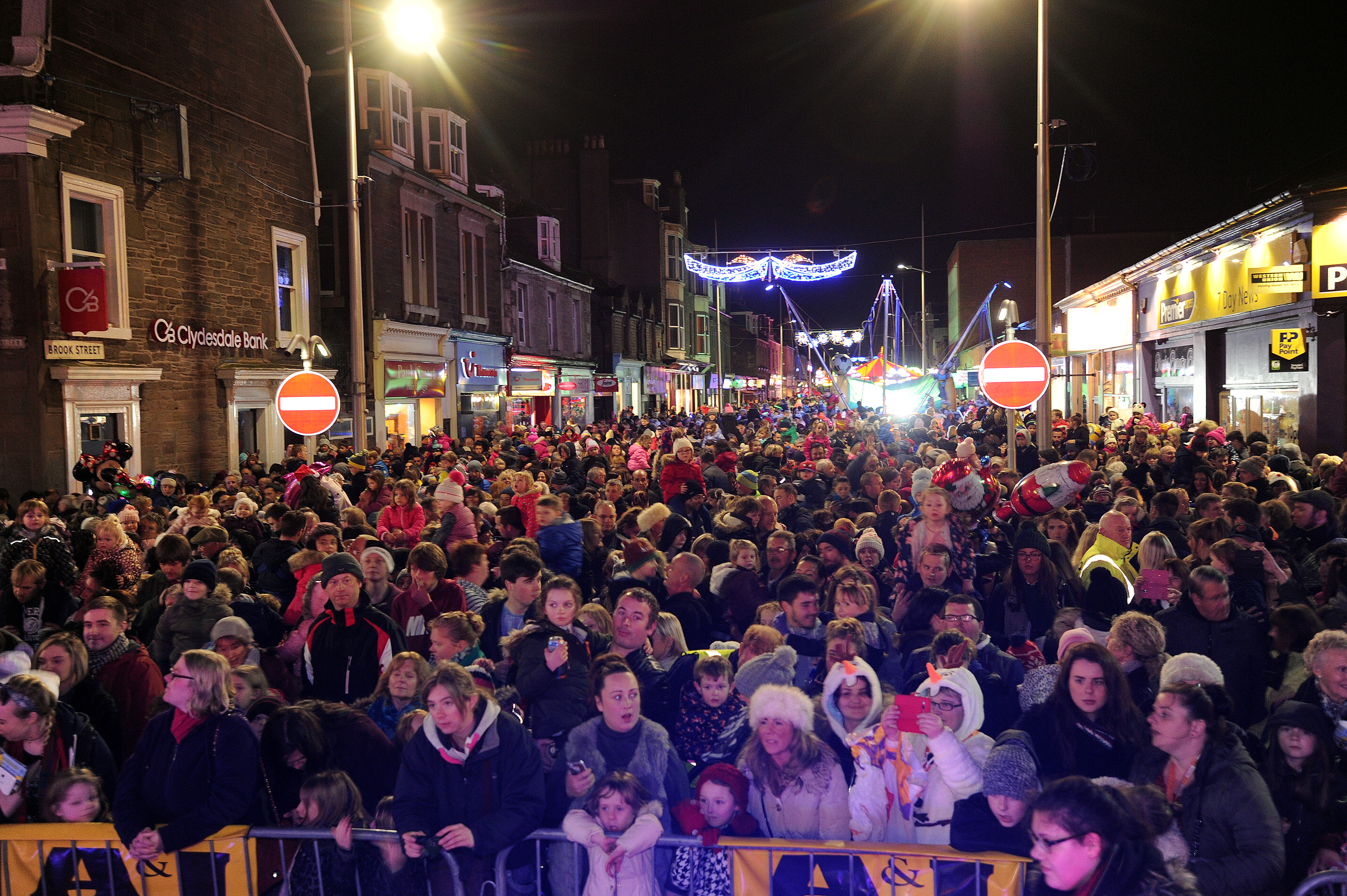 Last year's event saw thousands of people attend.