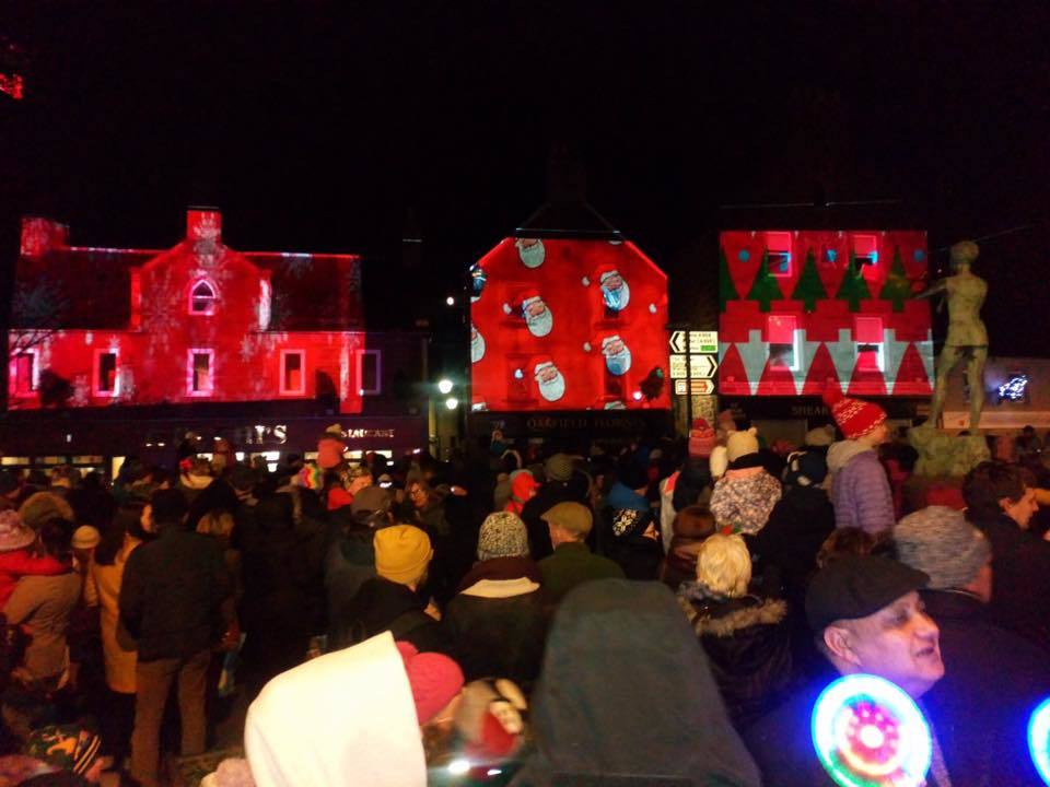 The Kirrie switch on.