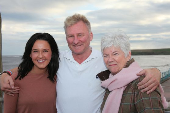 Emily Wood, Mark James and Alison Stedman.
