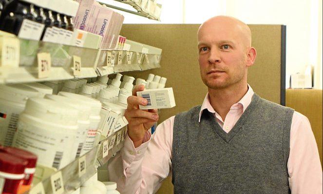 David Coulson, associate director of pharmacy at NHS Tayside