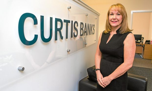 Jenny Leith, managing director of Curtis Banks Dundee
