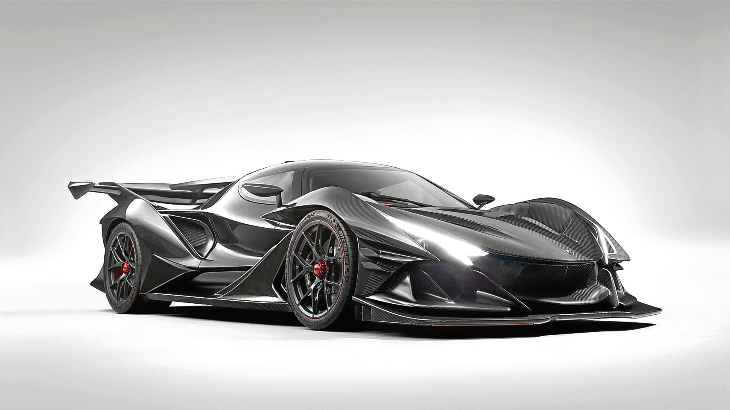 Undated Handout Photo of Apollo Intensa Emozione, Germany's new V12 hypercar. See PA Feature MOTORING News. Picture credit should read: Apollo Automobi/Handout/PA. WARNING: This picture must only be used to accompany PA Feature MOTORING News.