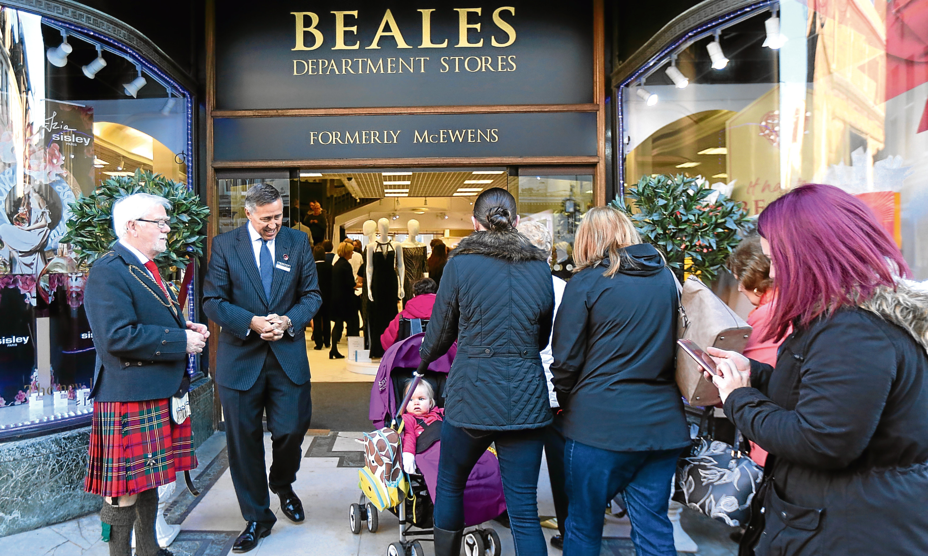 Beales has taken over the former McEwens store in Perth. It welcomed its first customers through the doors earlier this month.