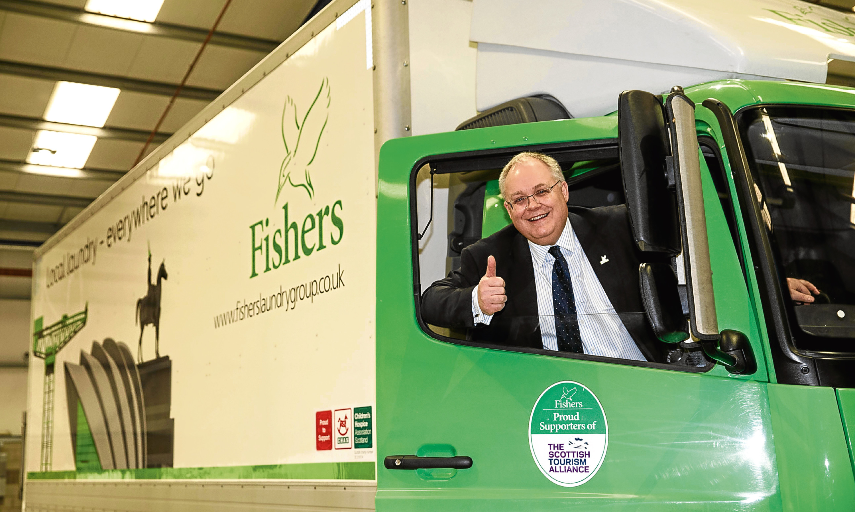Fishers Laundry managing director Michael Jones