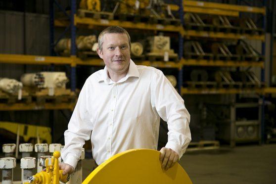 Alex Fyfe, managing director of OilMac