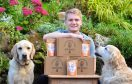 Ross Lamond of Wormit, Fife who has created Bug Bakes - dog treats made from crickets.