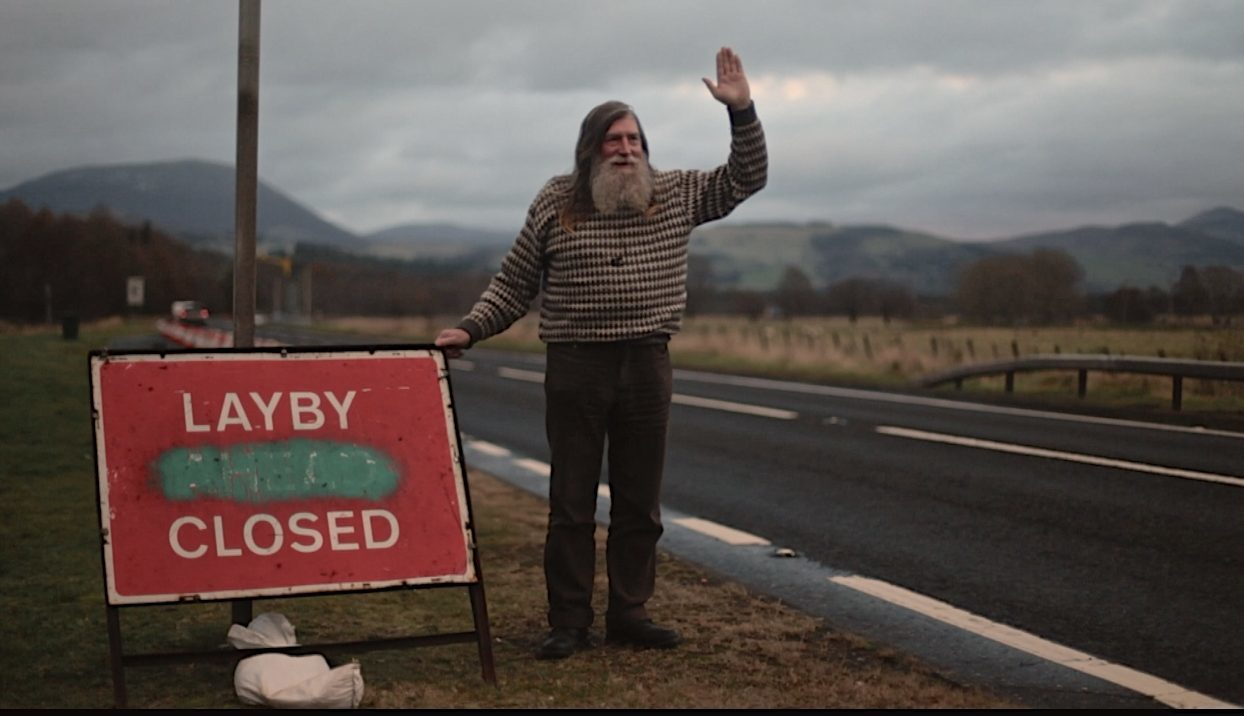 Charles Ingram was evicted from Layby 52 in 2015.