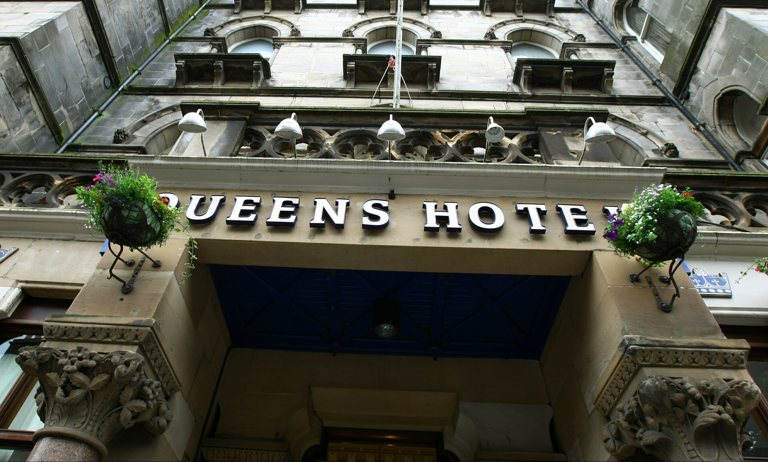 The Queen's Hotel in Dundee.