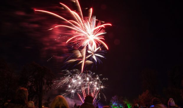 The fireworks display is one event which could come to an end