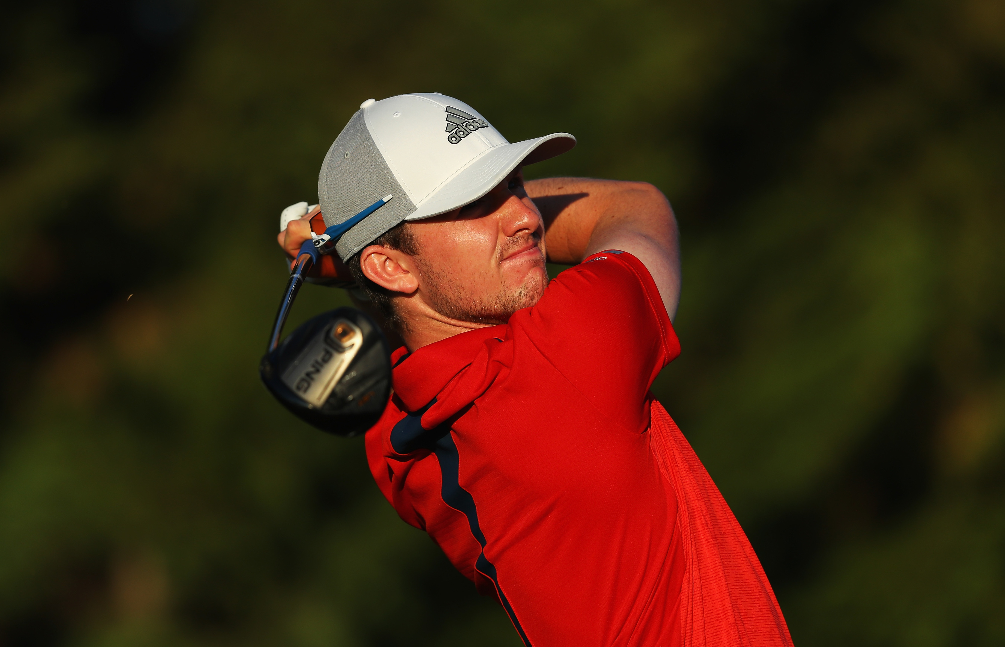 Connor Syme is tied for third going into the final round of the Q School Final.