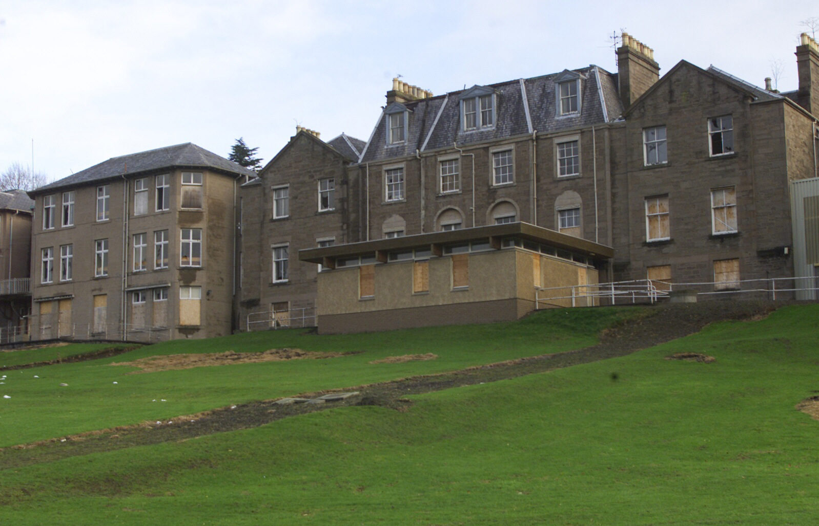 Hillside Hospital was demolished in 2007.