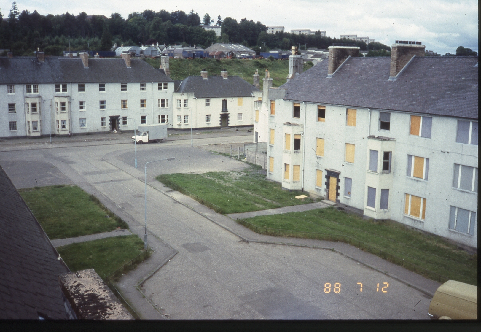 Once a model community, by the 1980s Hunter Crescent in Perth was known as Scotland's most deprived estate. A new book chronicles its lurid, sad but often funny history.