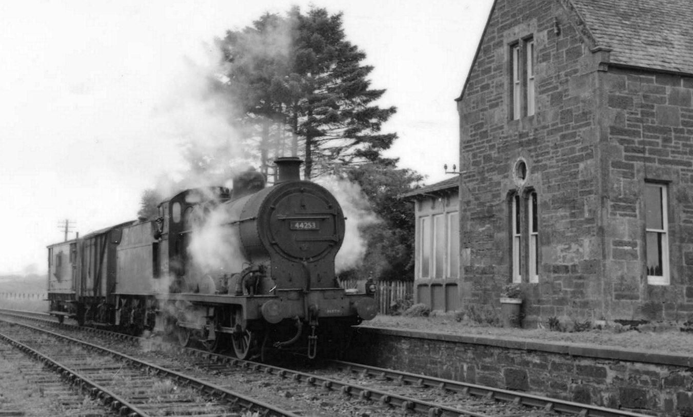 Innerpeffray Station in July 1958