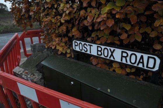Post Box Road no longer has a post box.
