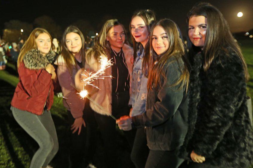 Lochee fireworks fun in 2017
