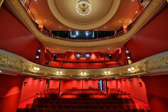 The fully restored auditorium at Perth Theatre