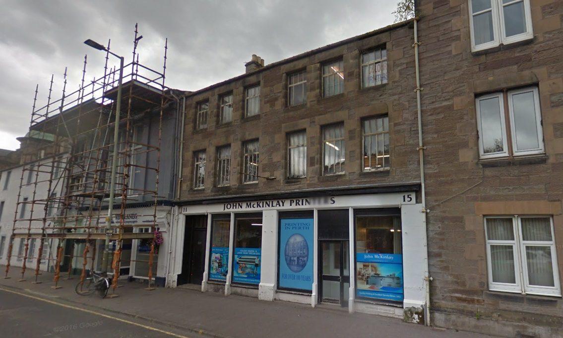 The King Street block earmarked for redevelopment