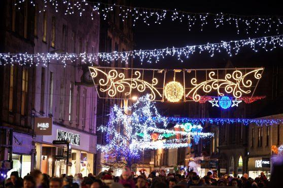 Kirkcaldy Christmas Lights